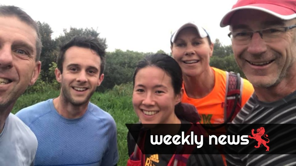 Bedraggled runners on the 3 Peaks run 20 June 2020