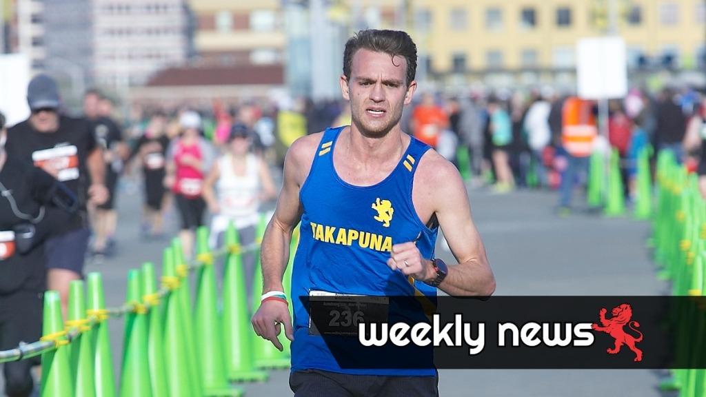 Chris Wharam wins Wellington Marathon 2015